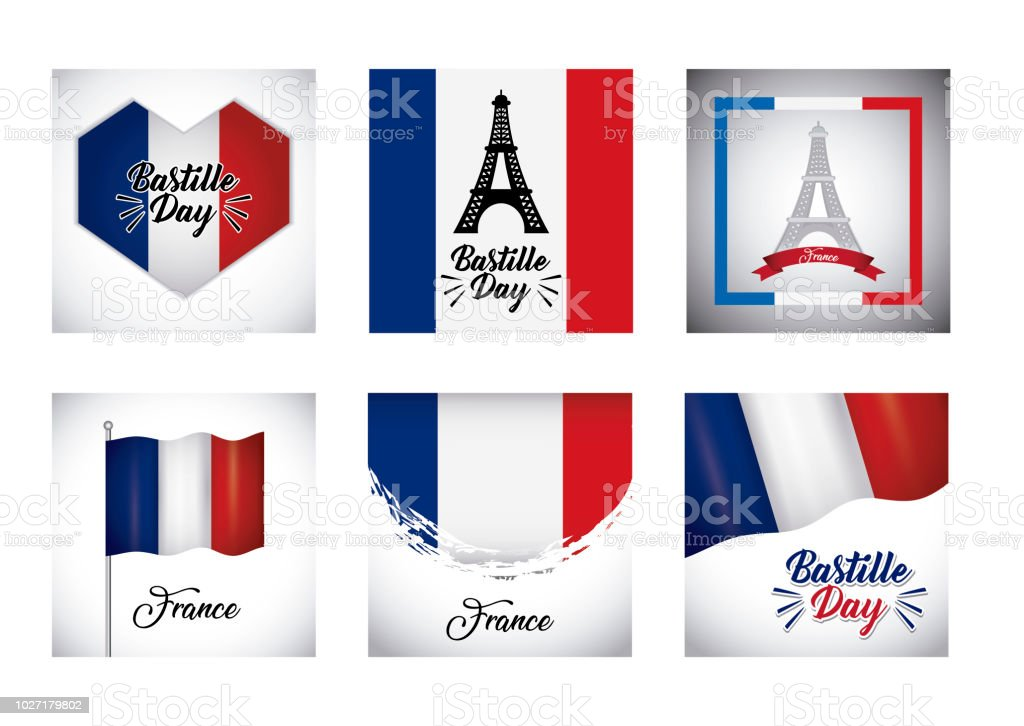 Bastille day design - Illustration vectorielle