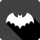 Bat Icon Silhouette