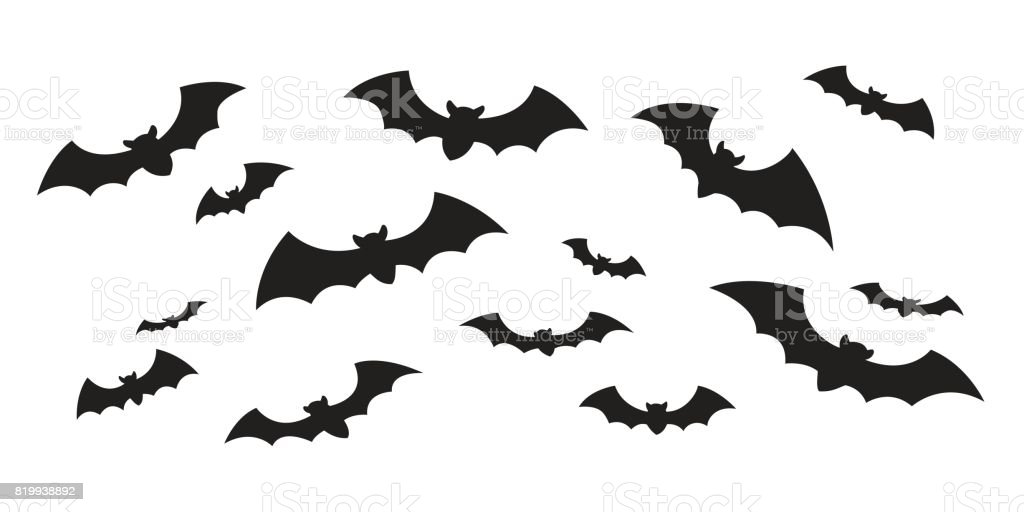 Bat icon vector doodle illustration vector art illustration
