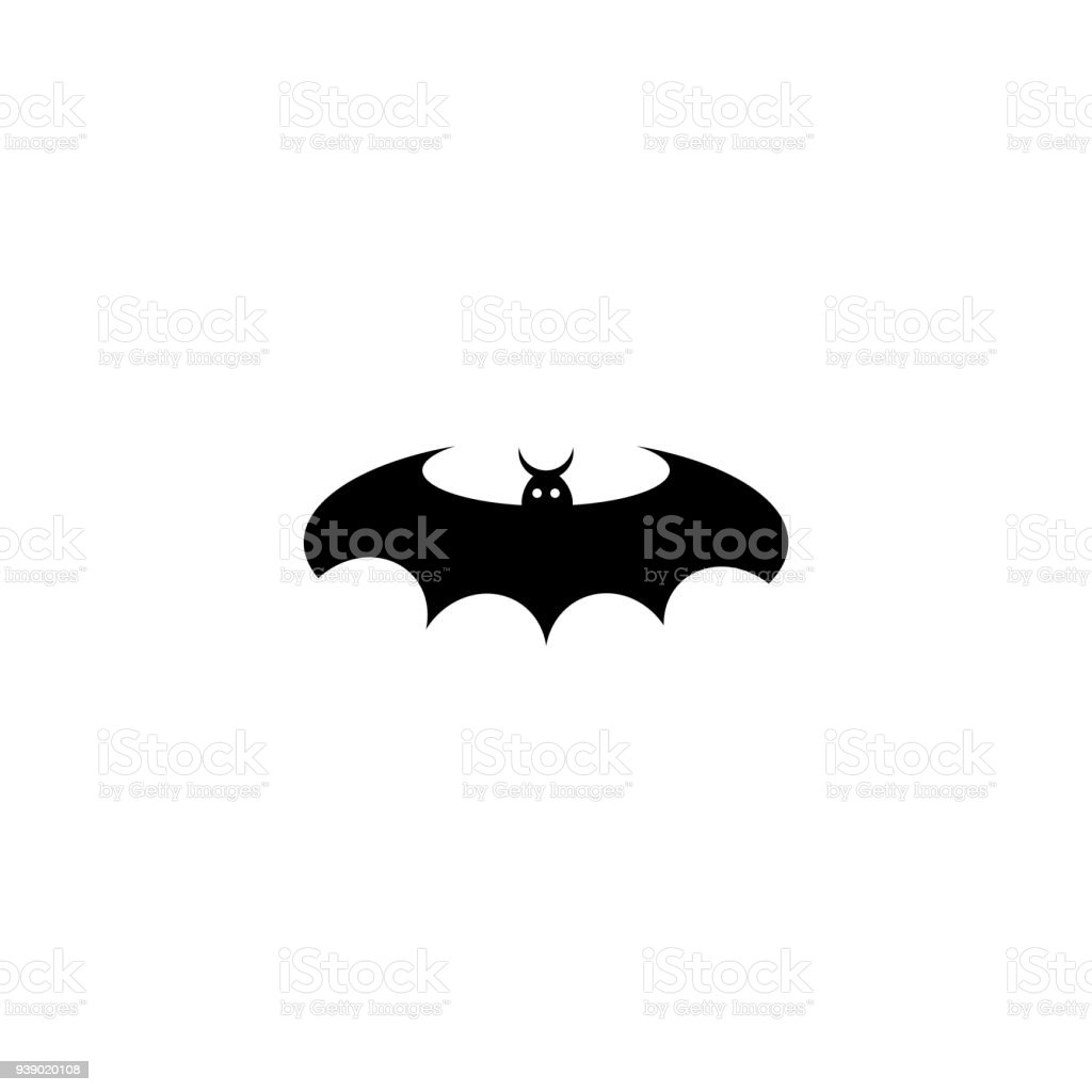bat silhouettes halloween vector illustration royalty free bat silhouettes halloween vector illustration stock vector