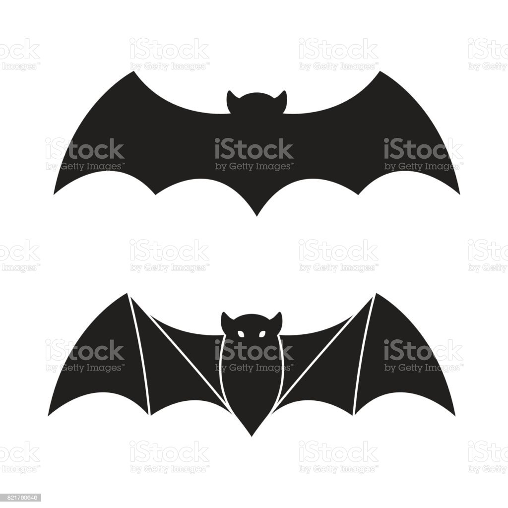 bat vector icon halloween illustration logo stock vector art & more