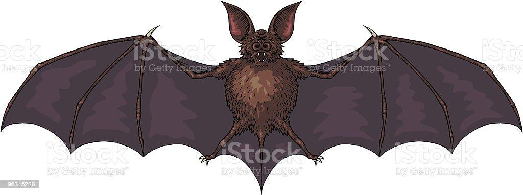 Bat royalty-free bat stock vector art & more images of animal