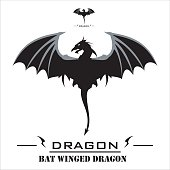 Bat Winged Dragon with the Whipped Tail