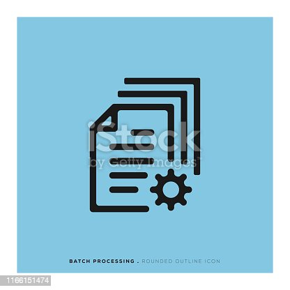 Batch Processing Icon