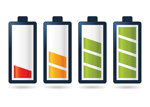 Royalty Free Low Battery Clip Art, Vector Images ...