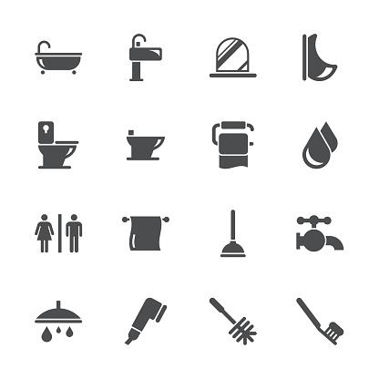 Bath and Bathroom - Gray Series