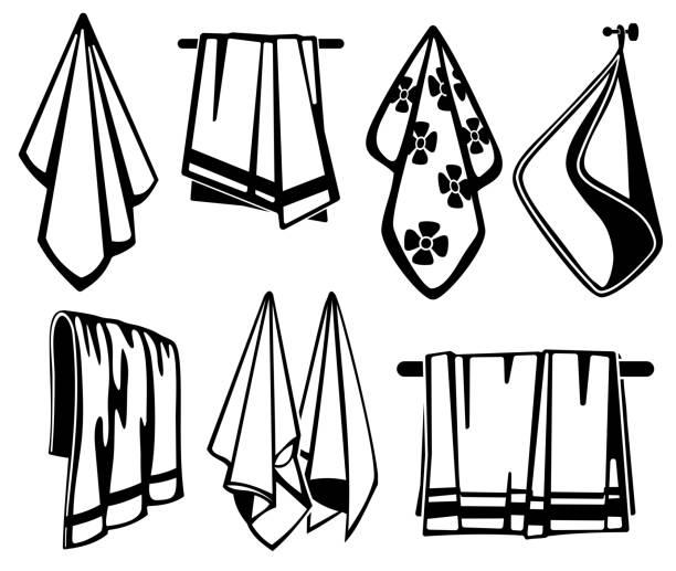 Best Tea Towel Illustrations, Royalty-Free Vector Graphics