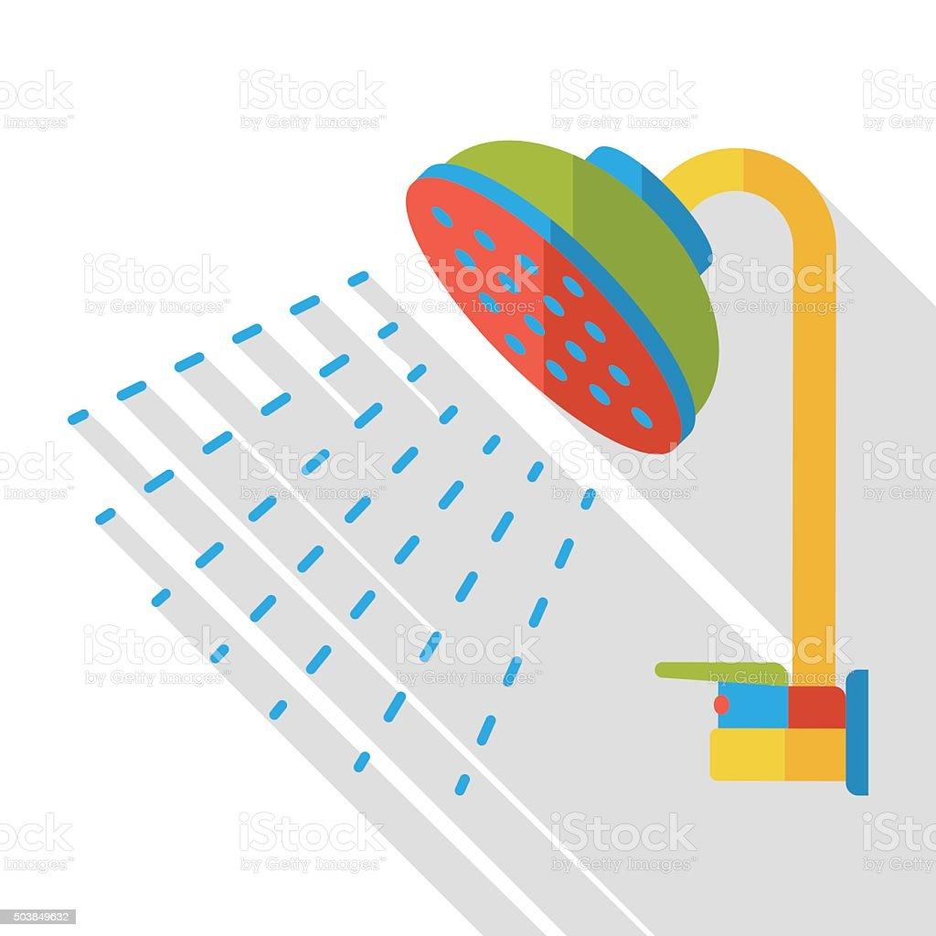 Duschkopf clipart  Duschkopf Vektorgrafiken und Illustrationen - iStock