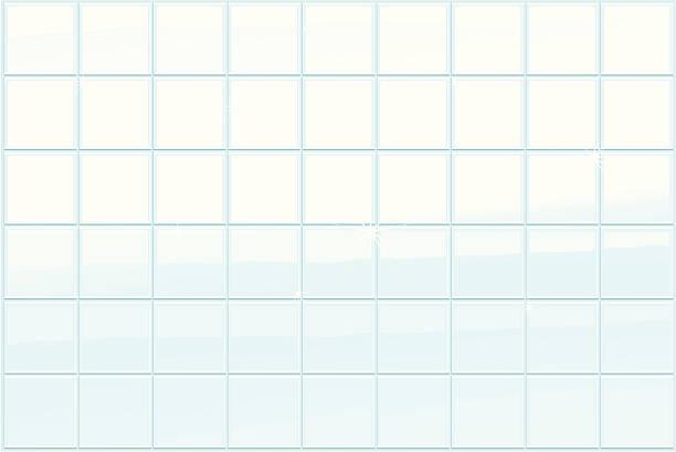 bath tiles illustration of a clean bathroom tiles bathroom backgrounds stock illustrations