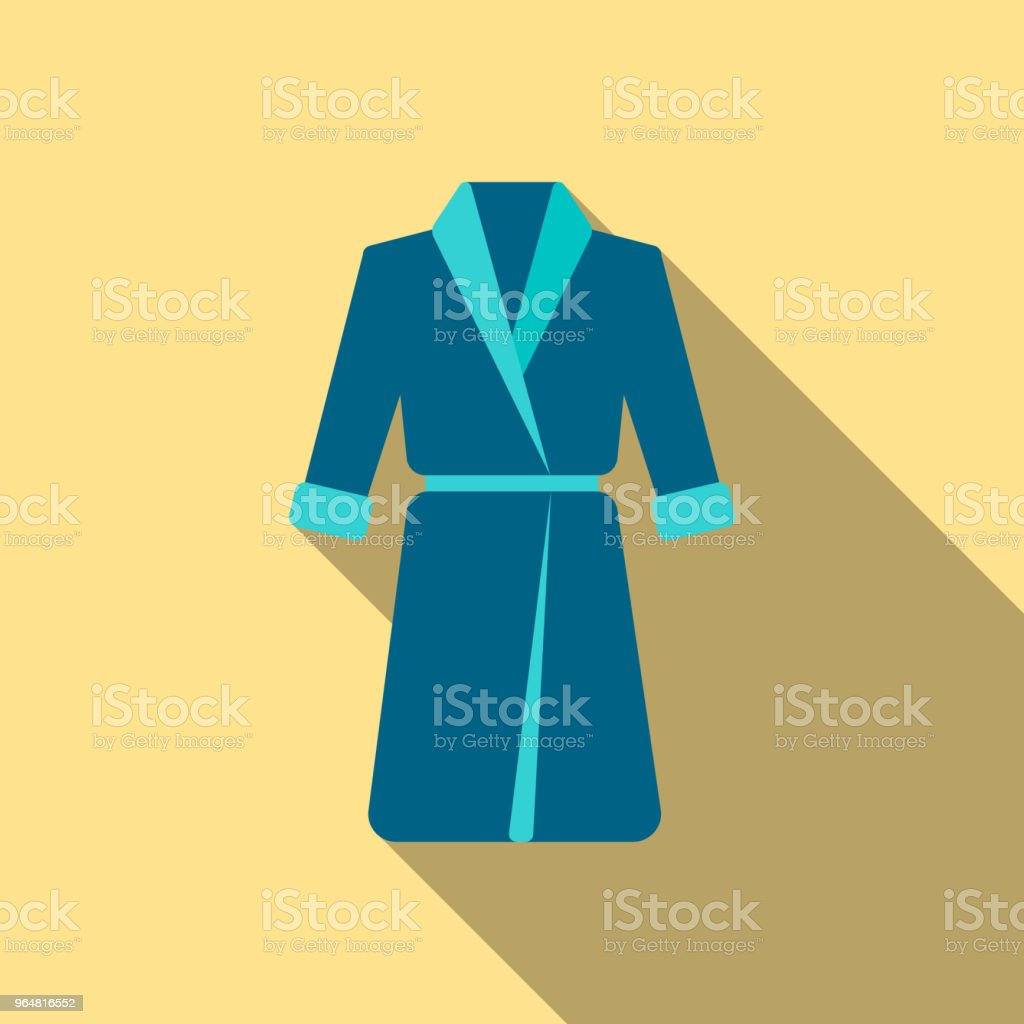Bathrobe icon of vector illustration for web and mobile royalty-free bathrobe icon of vector illustration for web and mobile stock vector art & more images of adult