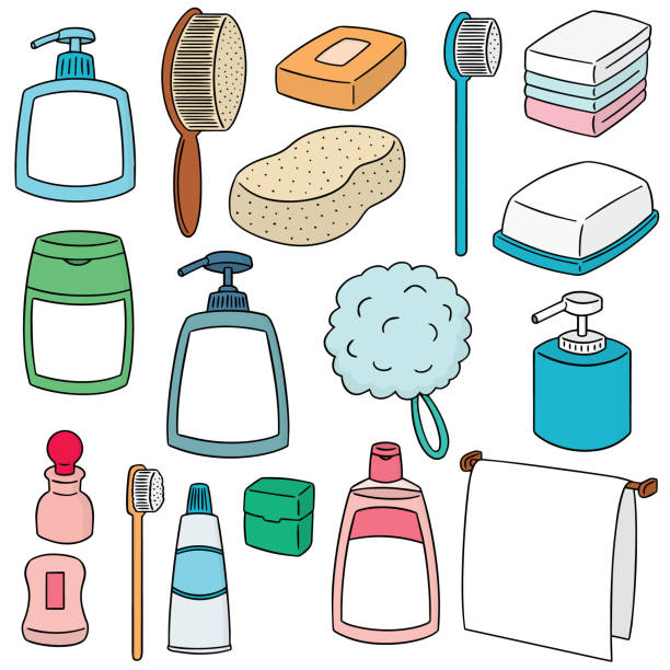 Best Bath Sponge Illustrations, Royalty-Free Vector