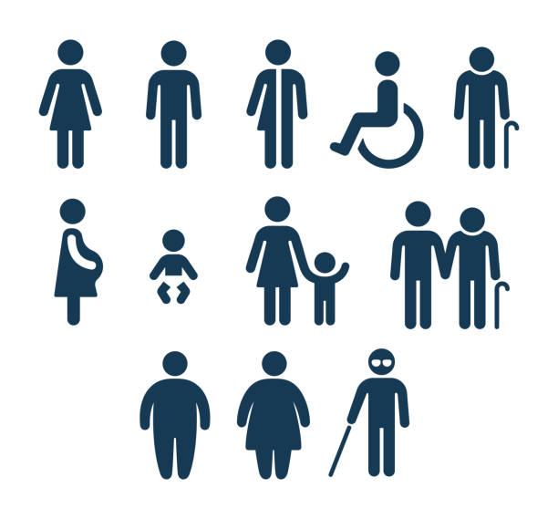 浴室和醫療人員圖示 - 女性 幅插畫檔、美工圖案、卡通及圖標