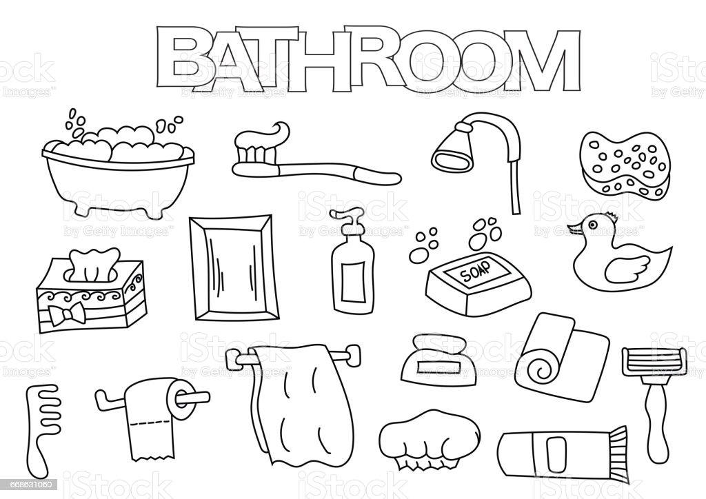 Badezimmer Bilder Zum Ausmalen