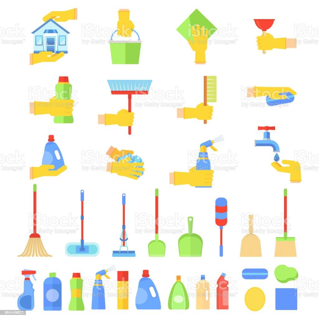 Badezimmermobel Und Werkzeuge Stock Vektor Art Und Mehr Bilder Von