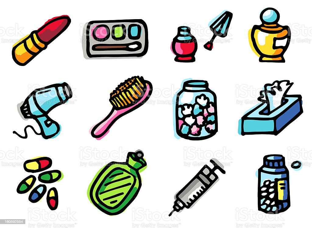 bathroom icons royalty-free bathroom icons stock vector art & more images of beauty