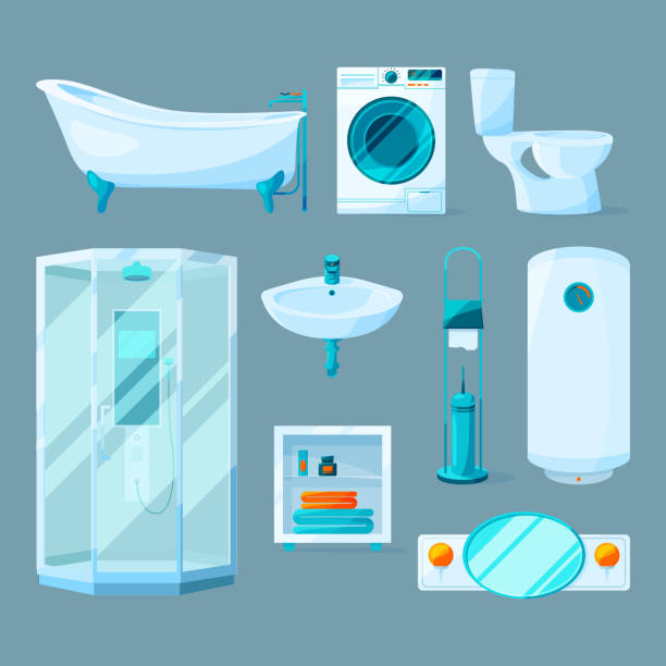 Royalty Free Cleaning Closet Clip Art, Vector Images ...