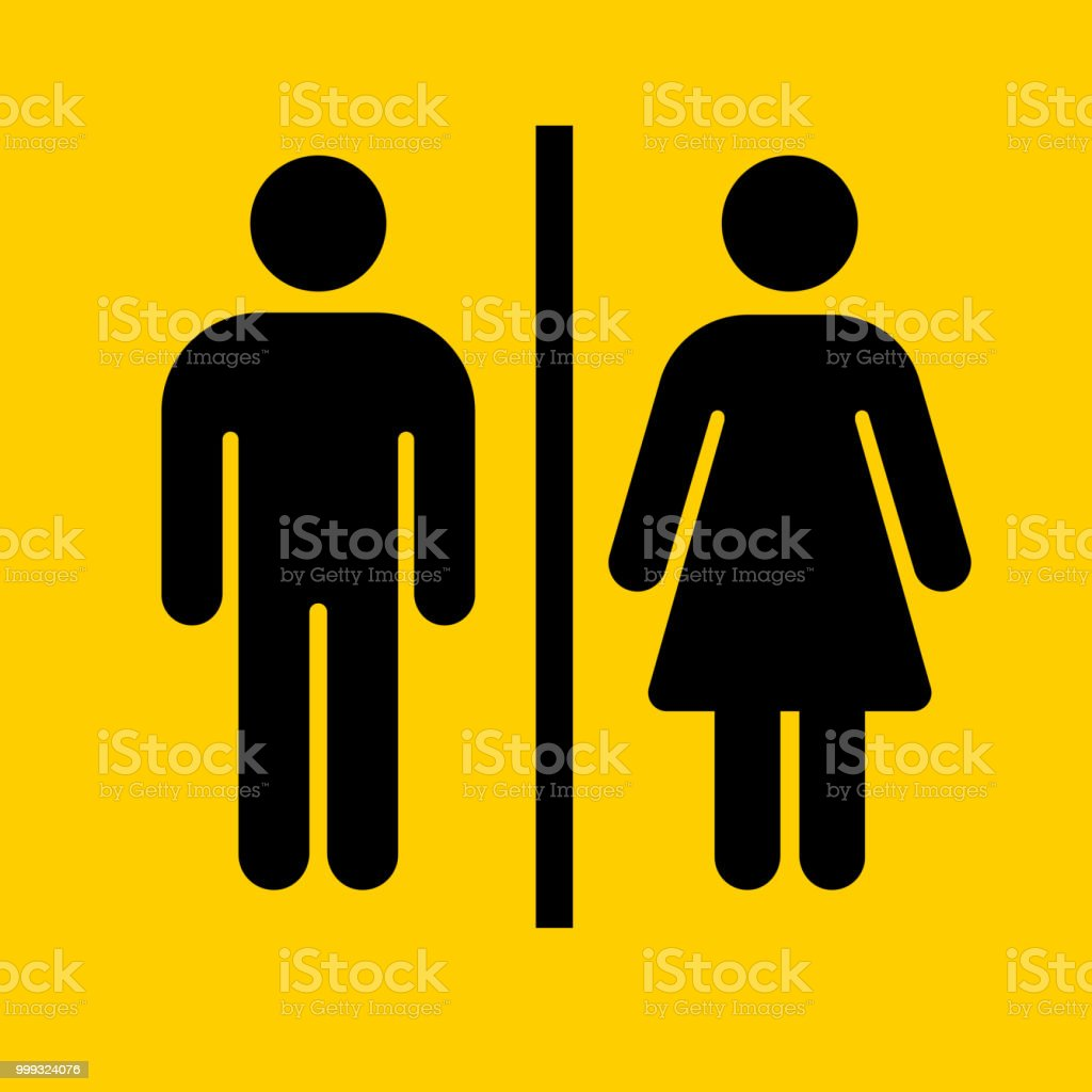 Bathroom Sign Icon Stock Vector Art & More Images Of Adult