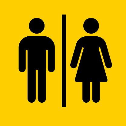 Bathroom Sign Icon