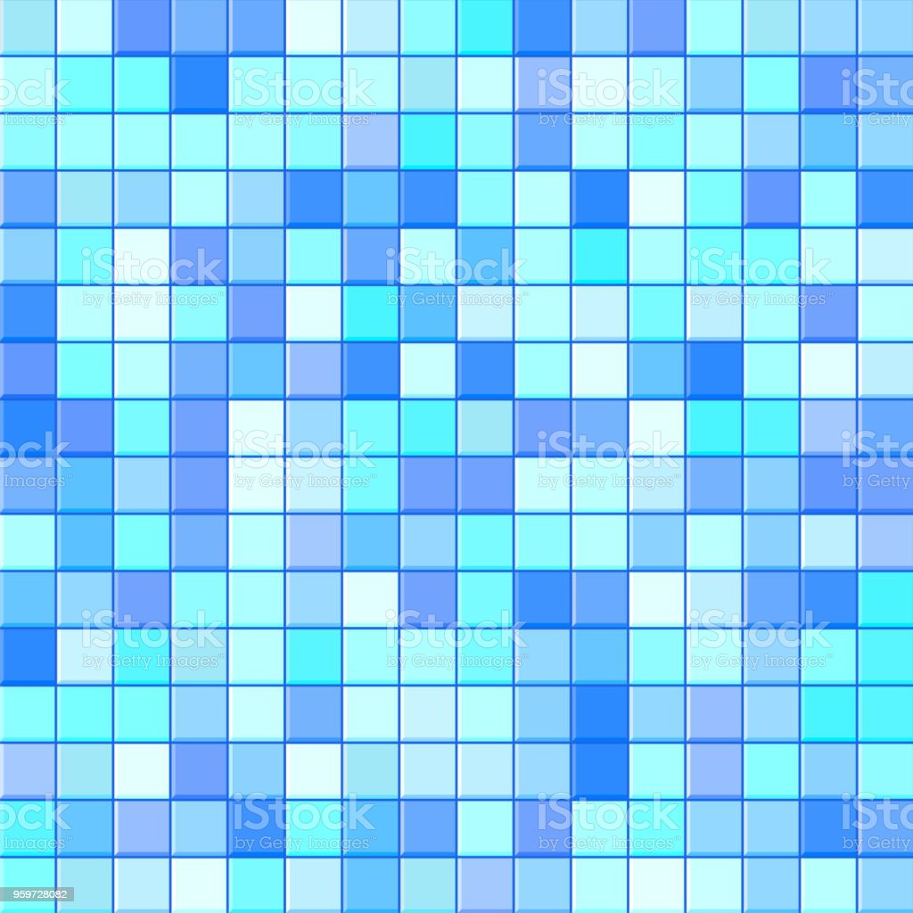 Bathroom Tile Background Stock Vector Art & More Images of ...