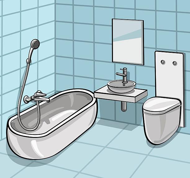Royalty Free Public Restroom Mirror Clip Art, Vector