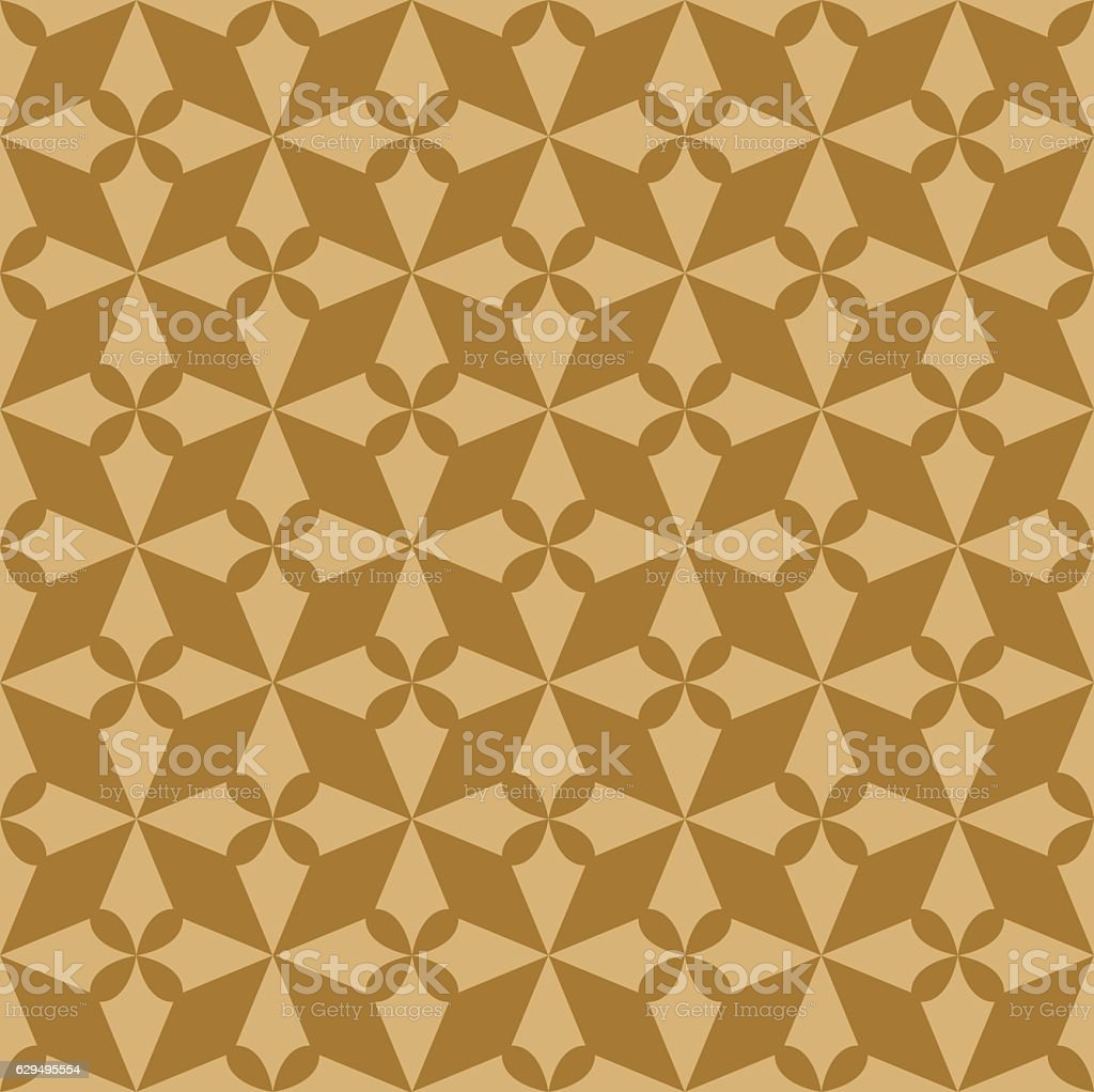 Batik Pattern Stock Vector Art & More Images of Abstract 629495554 ...