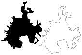istock Batman City map 1218208915