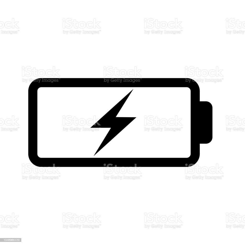Opladen van de batterij - Royalty-free Apparatuur vectorkunst