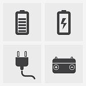istock battery icon 899279288