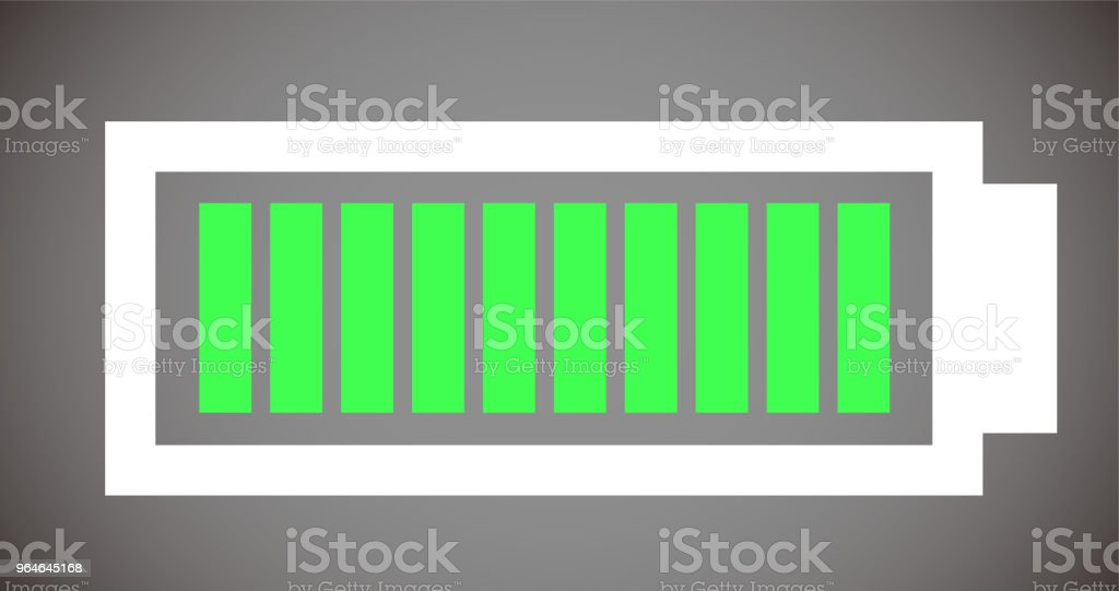 Battery level illustration 10 royalty-free battery level illustration 10 stock vector art & more images of no people