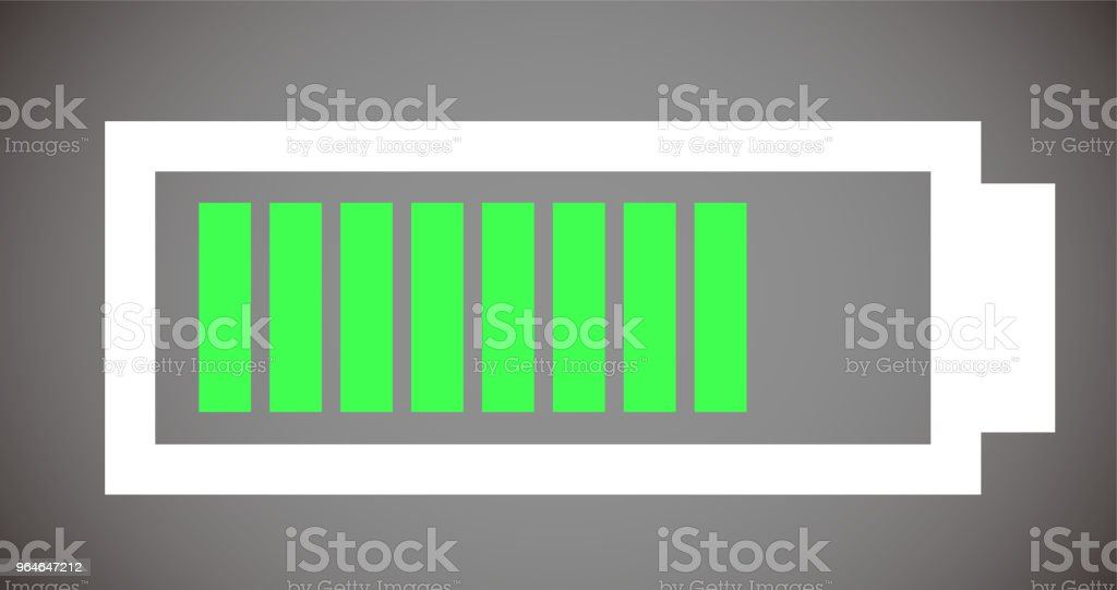 Battery level illustration 7 royalty-free battery level illustration 7 stock vector art & more images of no people