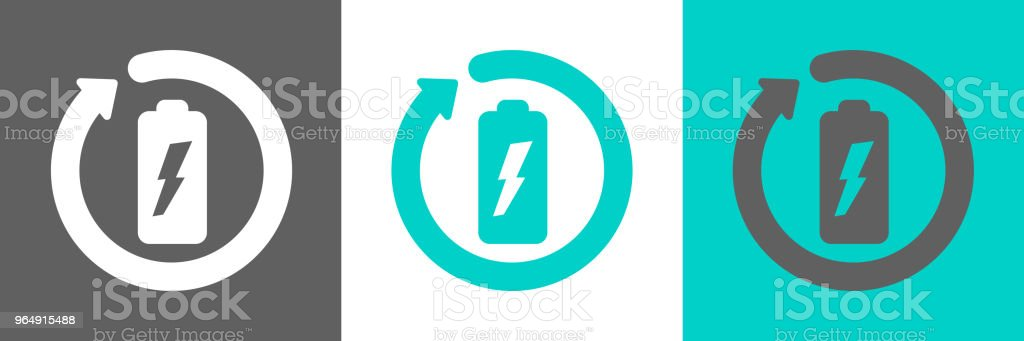 Battery recycling icon royalty-free battery recycling icon stock vector art & more images of battery