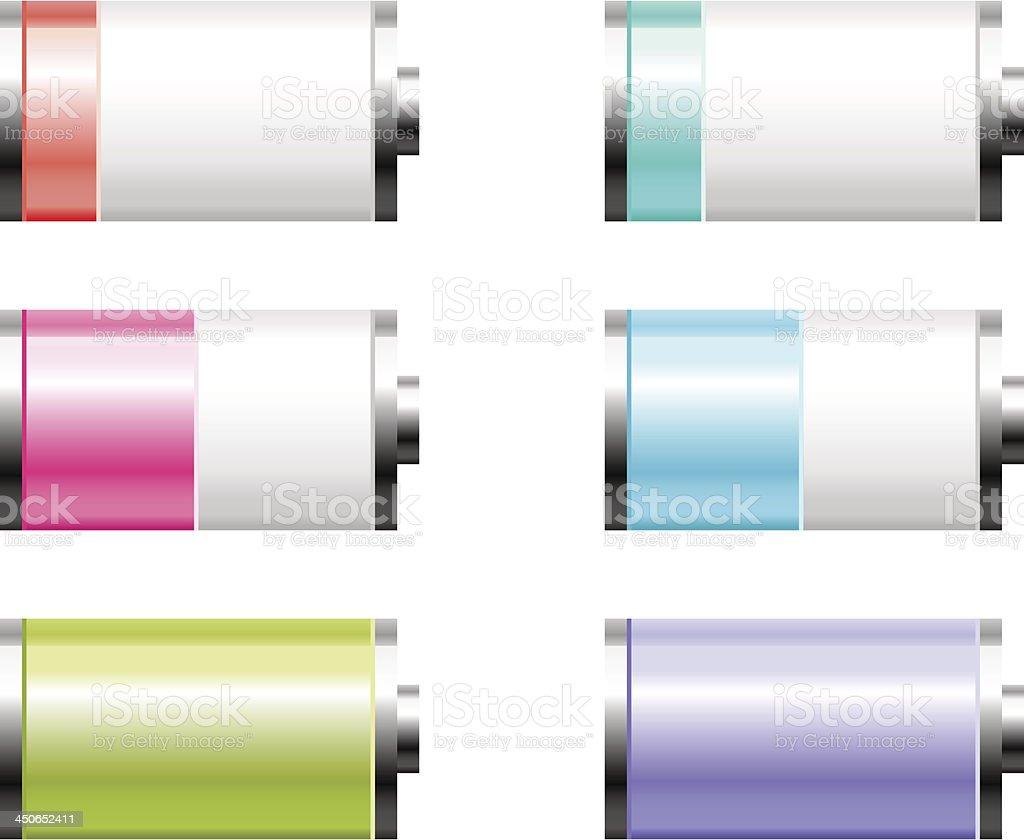 Battery set royalty-free battery set stock vector art & more images of alkaline