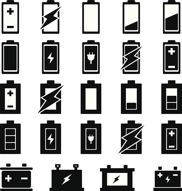 Batterie Vektor - – Vektorgrafik