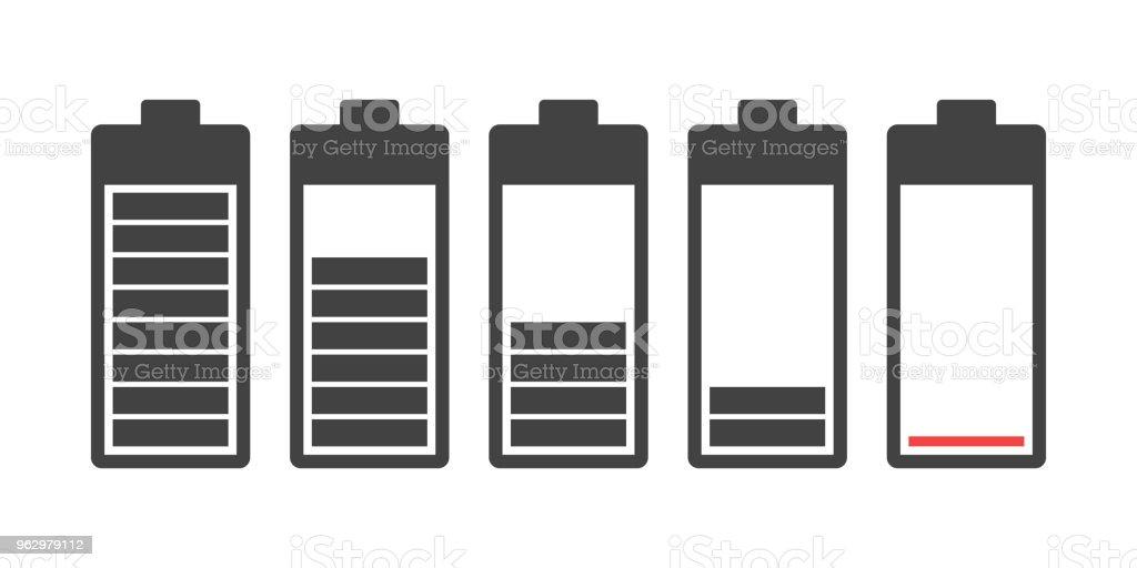 Batteriesymbol Stock Vektor Art und mehr Bilder von Additionstaste ...