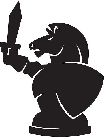 battle chess knight