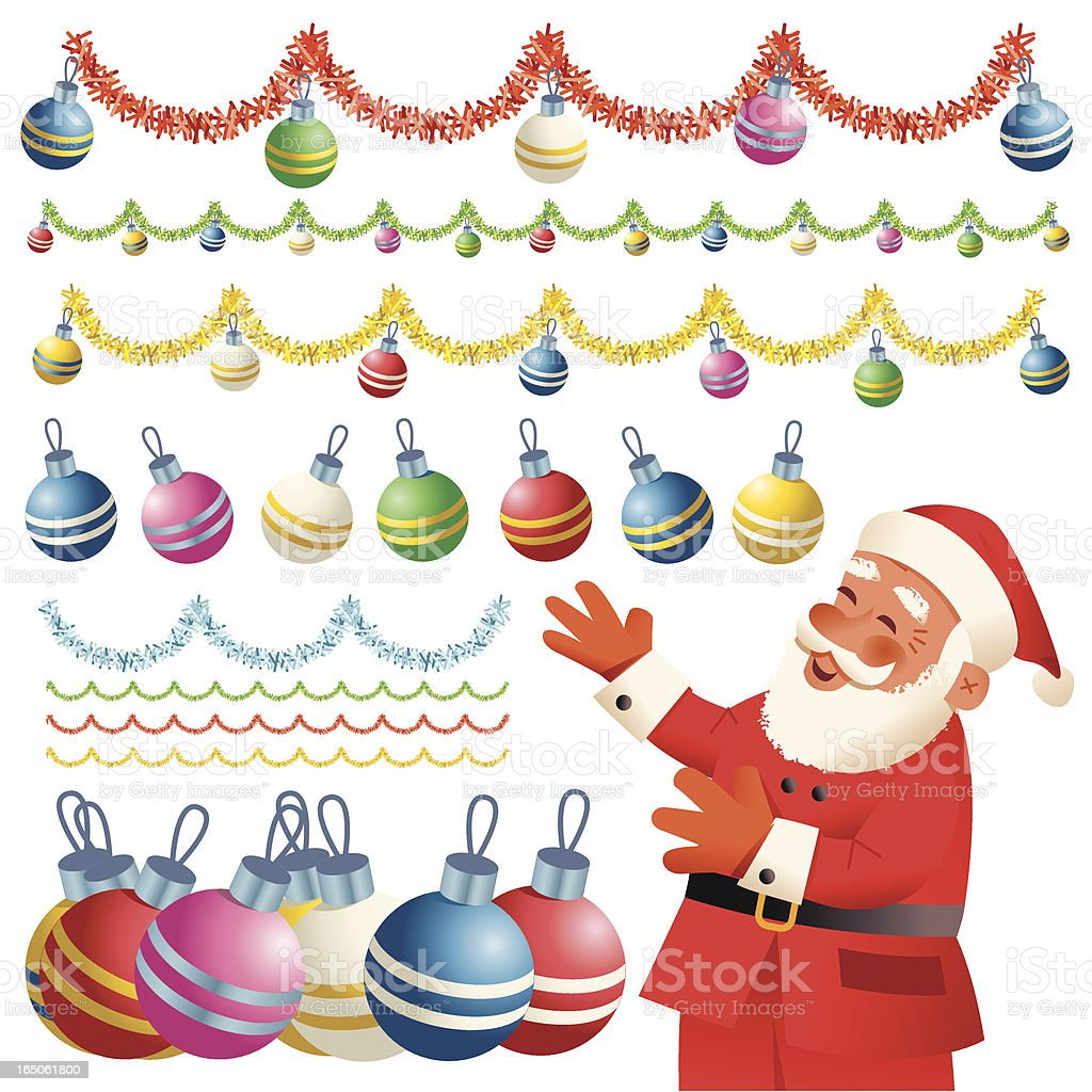 Baubles Galore royalty-free stock vector art