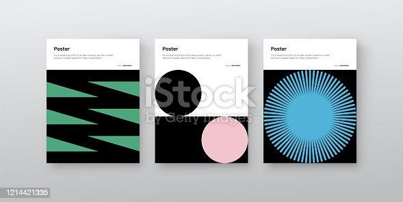 Bauhaus Design Poster Mockup Collection