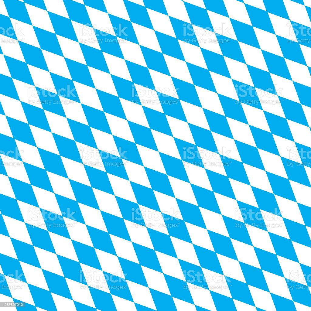 bavarian flag vector background – Vektorgrafik