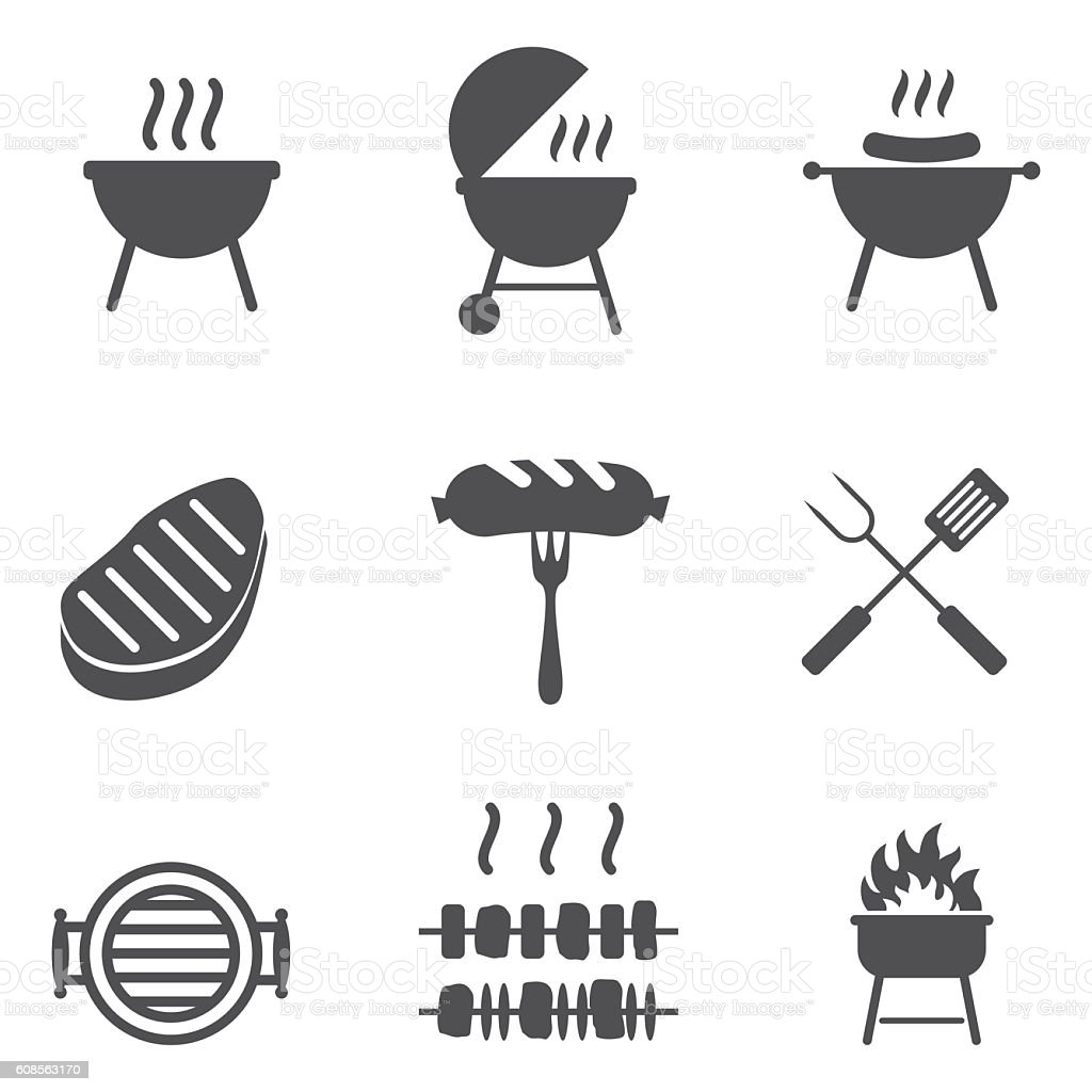 Vector Of A Cartoon Man Holding Ribs By His Bbq Outlined Coloring Page Drawing By Ron Leishman 16661 additionally Color C ing Family besides Svg Chillin And Grillin Grill Svg Grill as well Bbq Time Digital St as well Shutterstock Eps 101135284. on summer bbq clip art