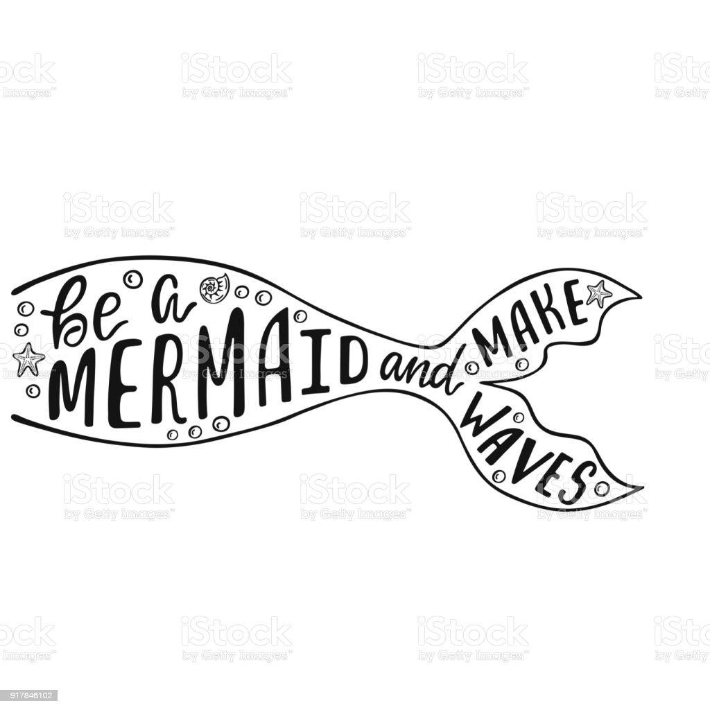 how to make mermaid waves