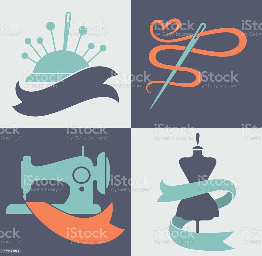 be a tailor, hand made fashion vector art illustration
