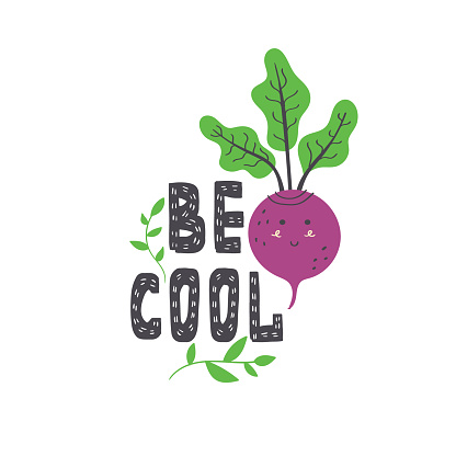 Be cool lettering