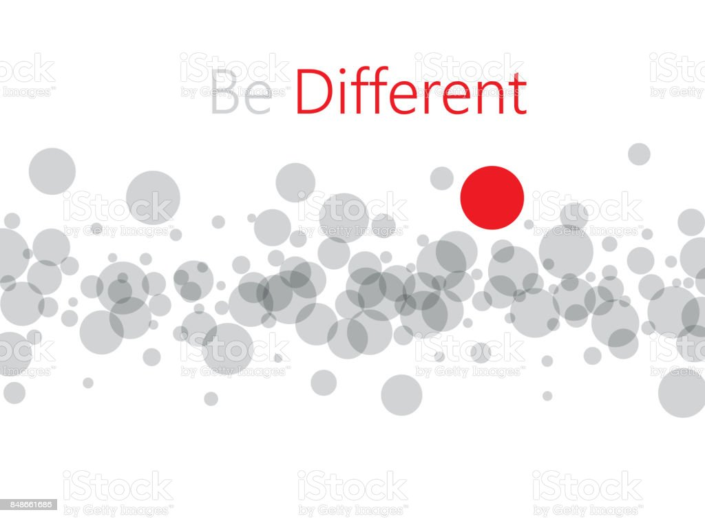 Be different abstract background. vector art illustration