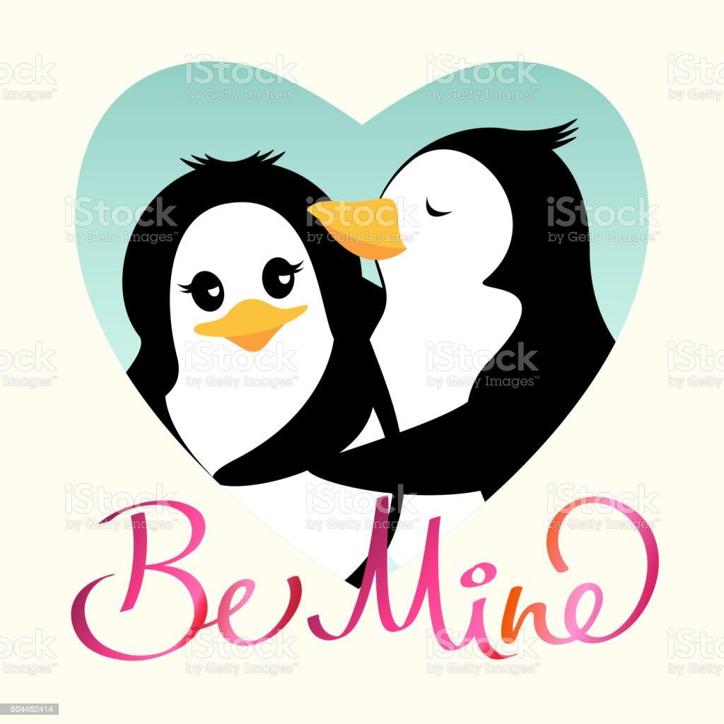 Risultati immagini per pinguini che si baciano