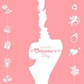 Love Valentine Day concept