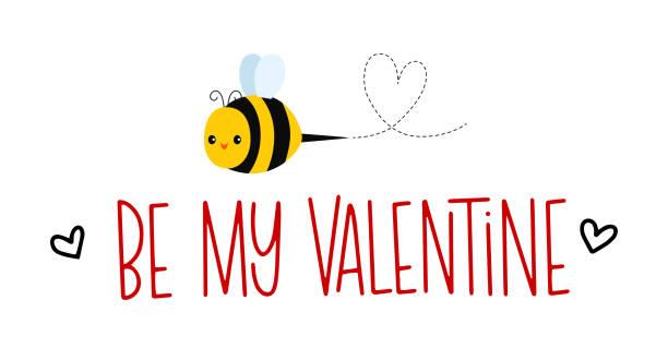 Be My Valentine vector art illustration