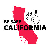 Be Safe California Poster