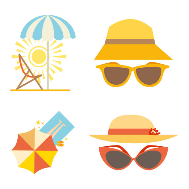 Image result for beach HATS clipart