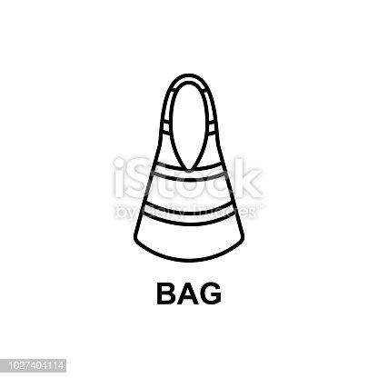 ᐈ Imagen de icono de bolsa de playa  Elemento de accesorios de