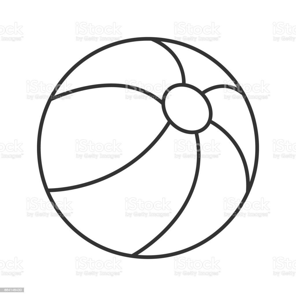 Beach ball icon royalty-free beach ball icon stock vector art & more images of ball